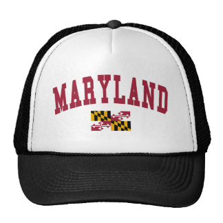 Maryland Flag Trucker Hat