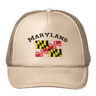 Maryland Flag Mesh Hat