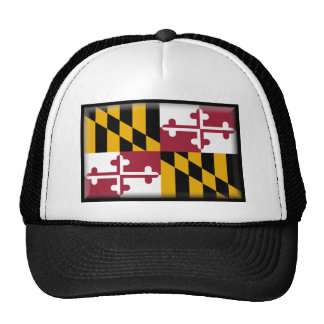 Maryland Flag Mesh Hats