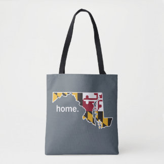 Maryland Flag home bag - grey