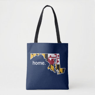 Maryland Flag home bag - navy blue