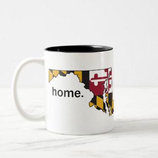 Maryland Flag home mug