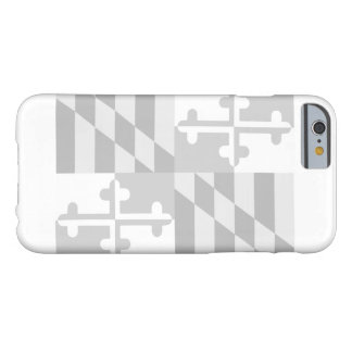Maryland Flag (horizontal) phone case-CUSTOMIZABLE Barely There iPhone 6 Case