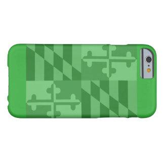 Maryland Flag (horizontal) phone case - green