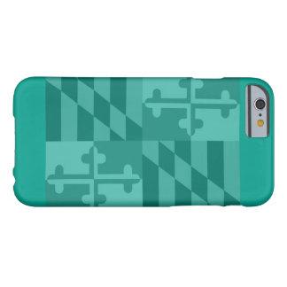 Maryland Flag (horizontal) phone case - green/blue