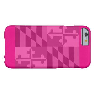 Maryland Flag (horizontal) phone case - hot pink