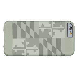 Maryland Flag (horizontal) phone case - olive