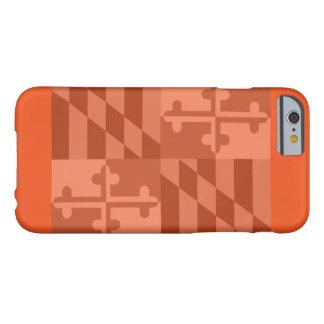Maryland Flag (horizontal) phone case - orange