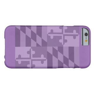 Maryland Flag (horizontal) phone case - purple