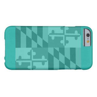 Maryland Flag (horizontal) phone case - turquoise