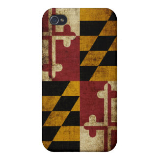 Maryland Flag iPhone 4/4S Covers