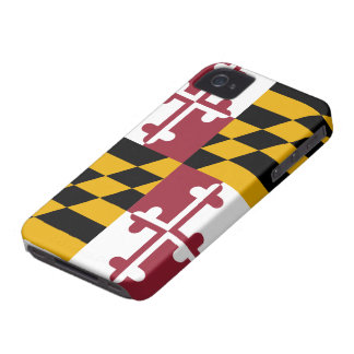 Maryland Flag iPhone 4 Case-Mate Case