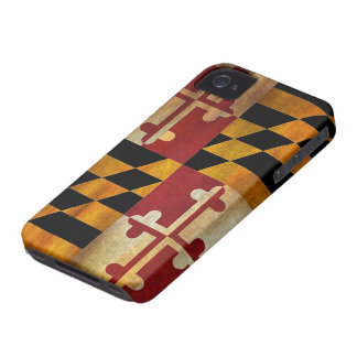 Maryland Flag iPhone 4 Covers