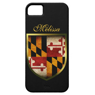 Maryland Flag iPhone 5 Cover