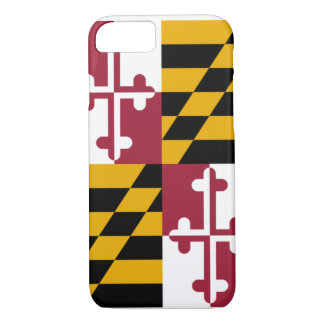 Maryland Flag iPhone Smartphone Case