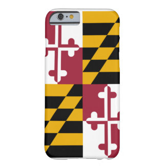 Maryland Flag iPhone Smartphone Case Barely There iPhone 6 Case