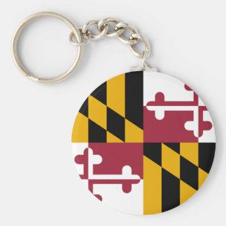 Maryland Flag Key Ring
