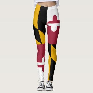 Maryland Flag leggings