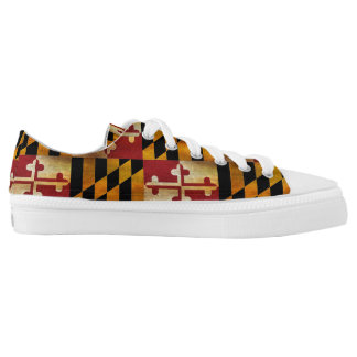 Maryland Flag Low Tops