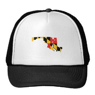 Maryland Flag Map Trucker Hat