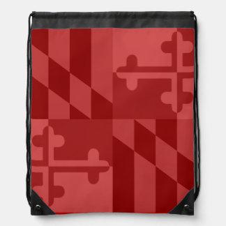 Maryland Flag Monochromatic bag - red