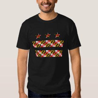 Maryland Flag on DC Flag Shirts
