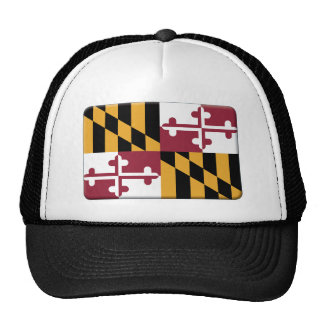 Maryland Flag PERSONALIZE Hat