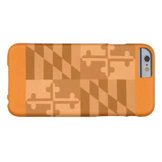 Maryland Flag phone case -yellow/orange