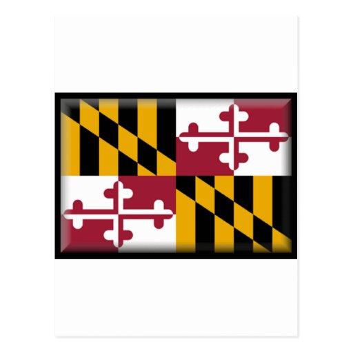 Maryland Flag Post Card