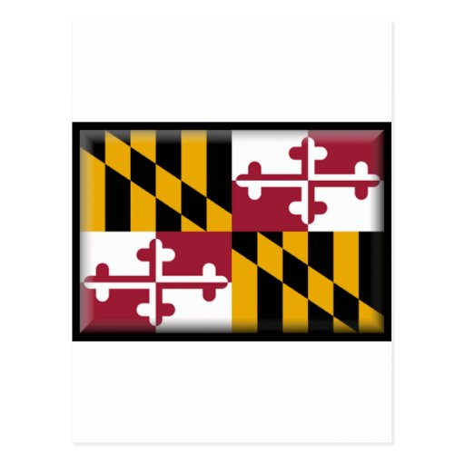 Maryland Flag Post Cards