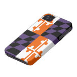Maryland Flag Sports Colours For iPhone 4/4S iPhone 4 Case-Mate Case