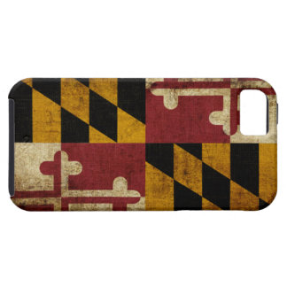 Maryland Flag Tough iPhone 5 Case