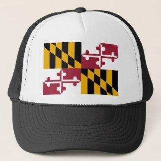 Maryland Flag Trucker Hat