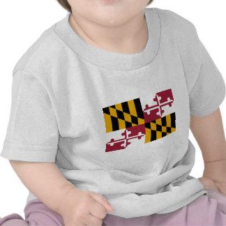 Maryland flag t shirts