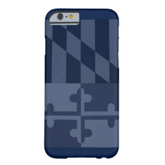 Maryland Flag (vertical) phone case - navy blue
