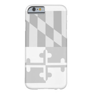 Maryland Flag (vertical) phone case - white