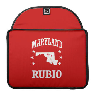 MARYLAND FOR RUBIO SLEEVES FOR MacBooks