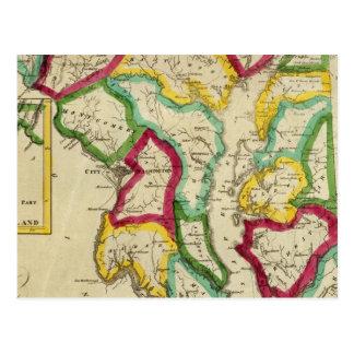 Maryland General Atlas Postcard