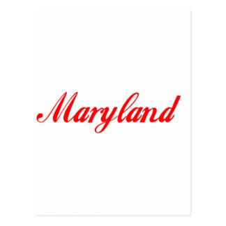 maryland Gifts Postcard