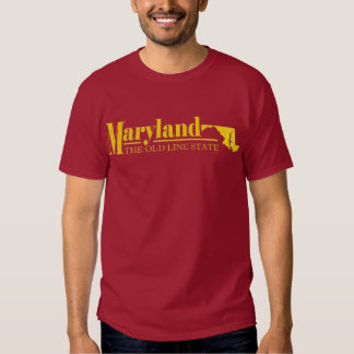 Maryland Gold T Shirts
