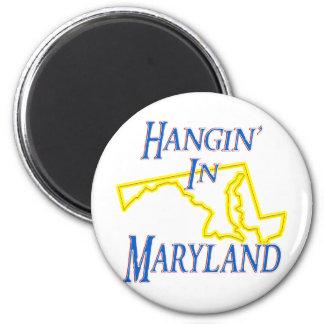 Maryland - Hangin Refrigerator Magnet