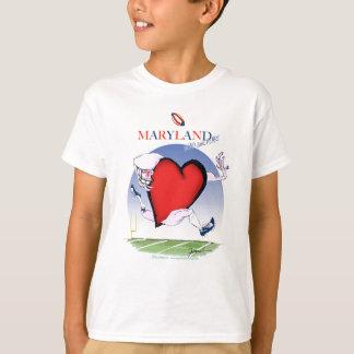 maryland head heart, tony fernandes T-Shirt