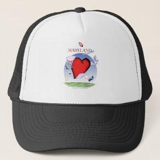 maryland head heart, tony fernandes trucker hat