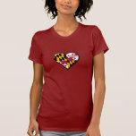 Maryland Heart Ladies Shirt