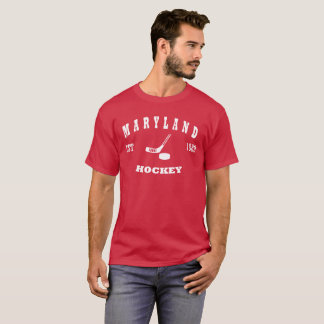 Maryland Hockey Retro Logo T-Shirt