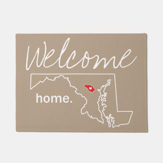 Maryland Home County Door Mat - Howard Co.