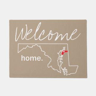 Maryland Home County Door Mat - Kent co.