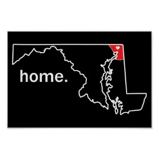 Maryland Home County poster - Cecil Co.