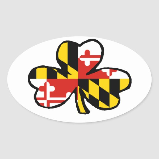 Maryland Irish Sticker