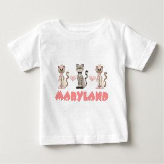 Maryland Kitty Cat Gift Baby T-Shirt